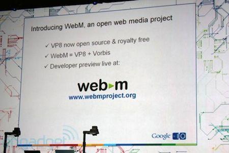 Google annuncia WebM, il formato video basato su VP8