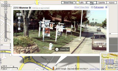 Google Street View permette di trovare i criminali