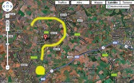 Google Maps: la città che non esiste