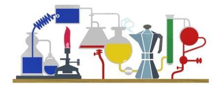 Google Doodle per celebrare Robert Bunsen