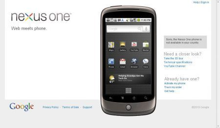 Google: analizzato hardware del Nexus One
