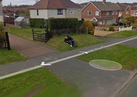 Google Street View bacio