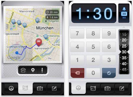 Come usare il GPS su iPhone per ricordarci il parcheggio dell'auto: Parkbud