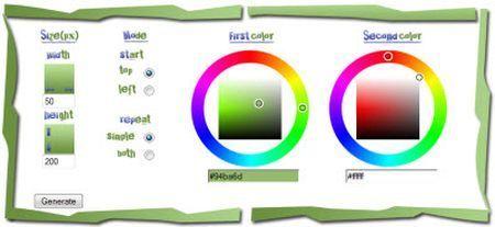 gradcolor applicazione web
