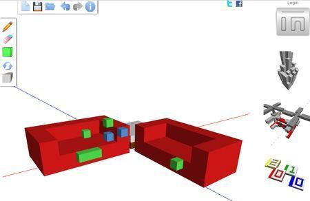 Creare oggetti 3D con 3DTin