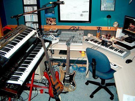 studio di registrazione a casa