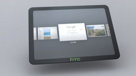 HTC Scribe: il primo tablet PC con Android 3.0
