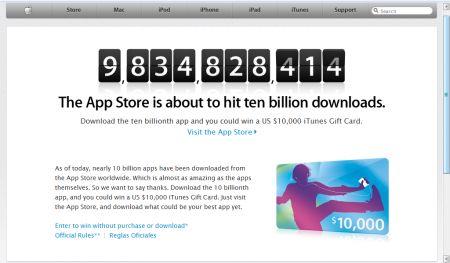 iTunes Store 10 miliardi