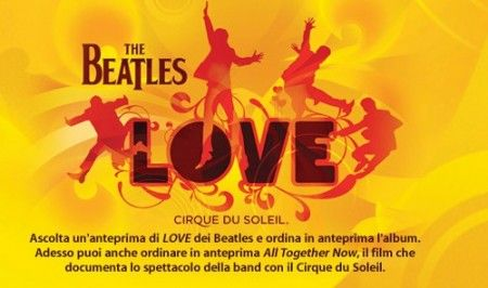 Apple iTunes, The Beatles ed il nuovo album LOVE