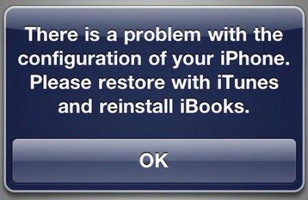 iPhone OS: iBook non funziona col jailbreak