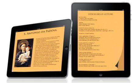 Apple iPad apprezzato dalla Chiesa