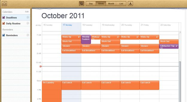 icloud calendario android