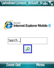 Volete provare Internet Explorer Mobile 6 sul vostro computer?
