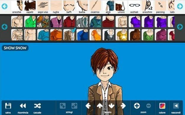 Immagini su Facebook, personalizzare la timeline con un avatar in stile manga
