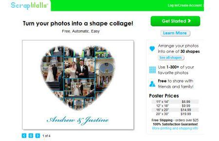 Realizzare e condividere collage di foto con ScrapWalls