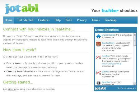 Twitter: inserire i messaggi su un sito con jotabl