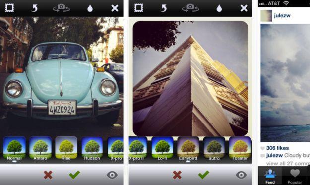 instagram app fotografia