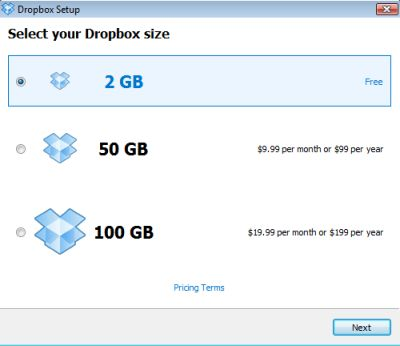installare dropbox
