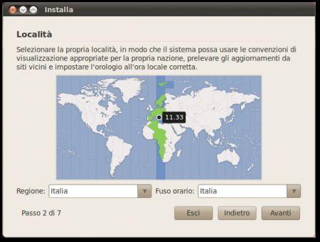 installare ubuntu 3
