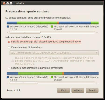 installare ubuntu 5
