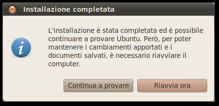 installare ubuntu 9