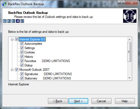 internet explorer 9 backup