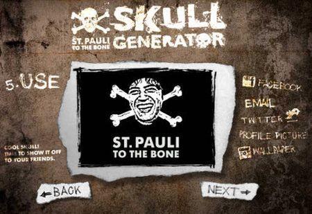 Trasformare una foto in un teschio con SkullGenerator