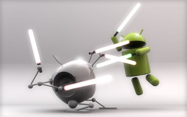 Android VS iOS: il Google Play Store punta l'App Store [FOTO]
