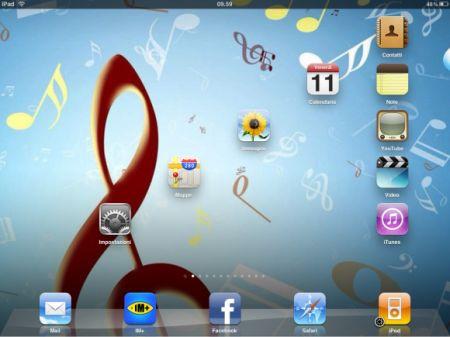Icone iPad: come gestire le pagine su tablet