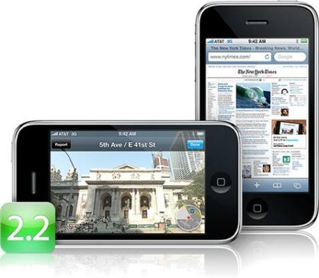 iPhone Firmware 2.2