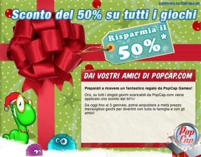Popcap Games: i giochi sono a metà prezzo fino al 3 gennaio!