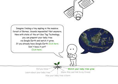 wwf e google earth