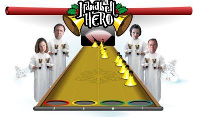Handbell Hero – il gioco che ti insegna che non è facile essere una star delle campane natalizie