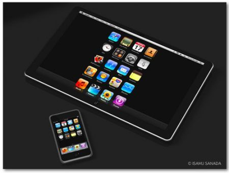 Apple: iTablet con iPhone OS 3.2