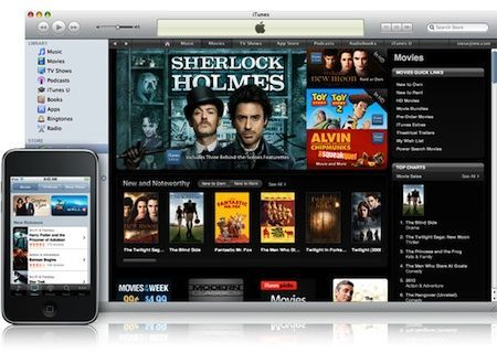 Film in iTunes Store: si avvicina la disponibilità in Italia