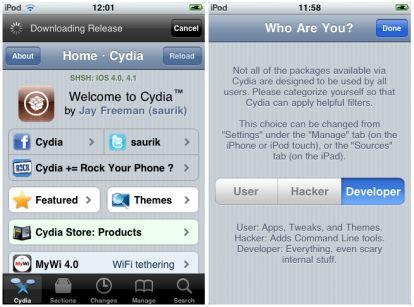 jailbreak iphone cydia installazione
