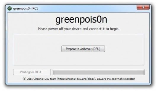 jailbreak ipod touch greenpois0n