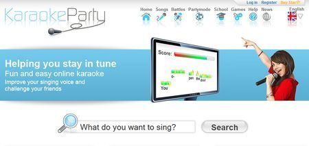 karaoke gratis su internet karaoke party