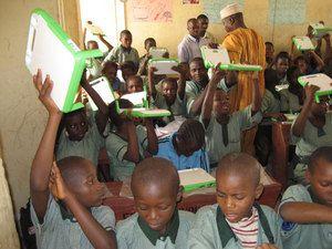 ora di informatica in Africa