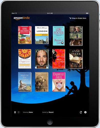 Amazon aggiorna Kindle per iPhone e iPad