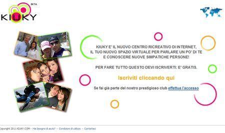 Social network: socializzazione virtuale con Kiuky