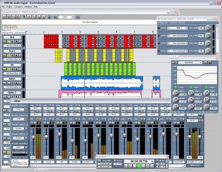 Modificare file audio con Kristal Audio Engine