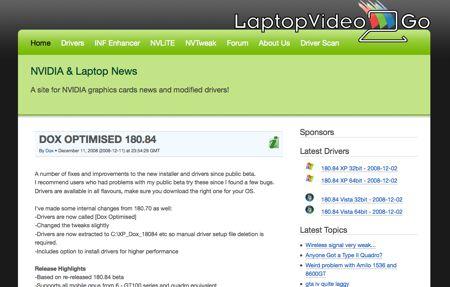 LaptopVideo2go.com: ecco dove trovare i driver per i laptop