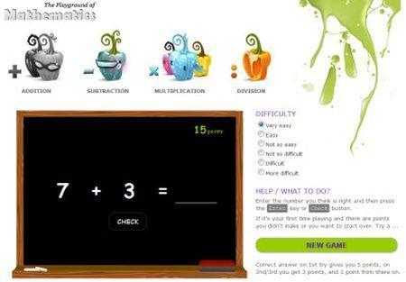Apprendere la matematica giocando on line
