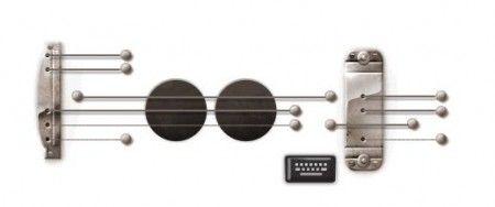 Il Google Doodle di oggi celebra Les Paul, il chitarrista americano