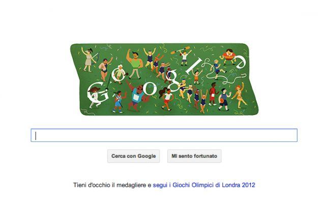 Londra 2012, cerimonia di chiusura olimpiadi: Google Doodle per gli atleti [FOTO]