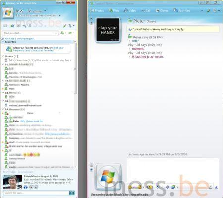 Live messenger 9.0 M1