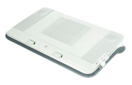 Logitech presenta Speaker Lapdesk N700