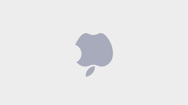 logo apple sottosopra laptop mac