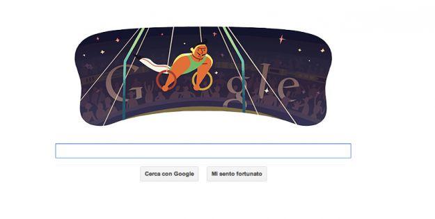 londra 2012 anelli ginnastica artistica google doodle